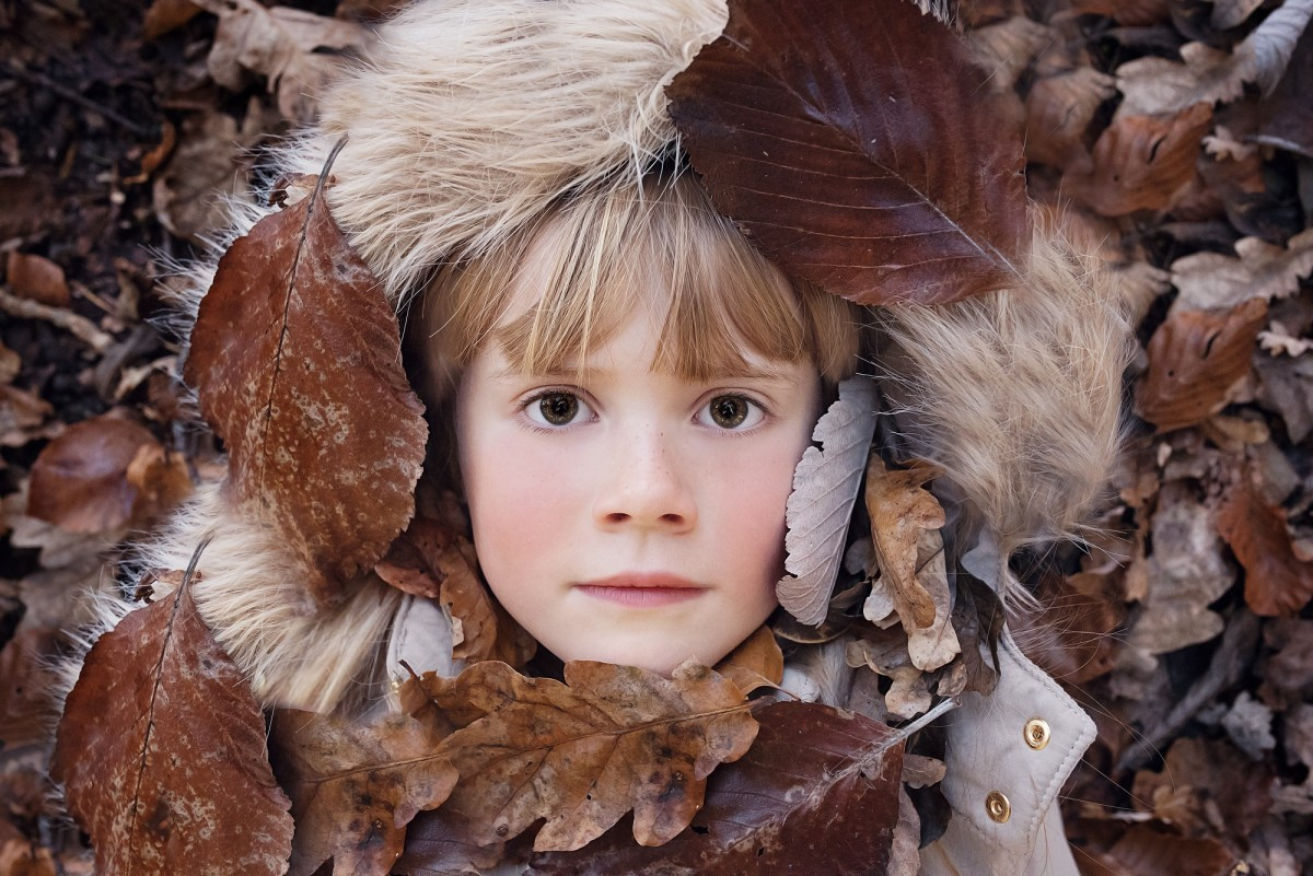 person_human_girl_female_face_leaves_autumn_portrait-676595